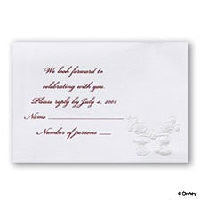 Forever in Love - Respond Card