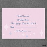 Party Princess - Response Card