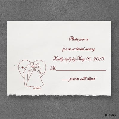 A Silhouette of Love - Response Card