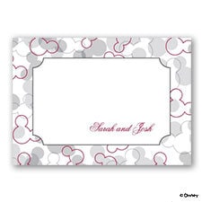 Mickey's Love - Note Card and Envelope