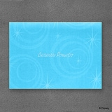 One Little Mermaid, One Big Celebration - Note Card and Envelope