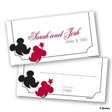 Mickey's Love Place Card
