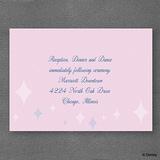 Party Princess - Reception Card
