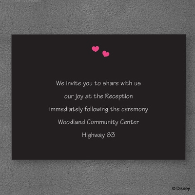 Adoring Eyes - Reception Card