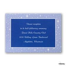 Written in the Stars - Reception Card
