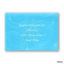 One Little Mermaid, One Big Celebration - Reception Card