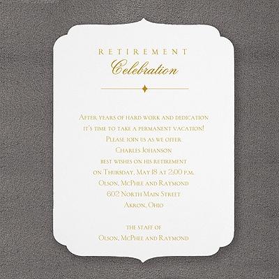 Classic Retirement - Invitation