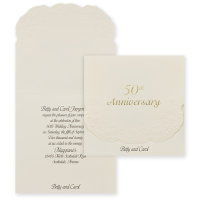 50th Anniversary - Invitation
