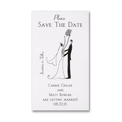 Simple - Save the Date Magnet