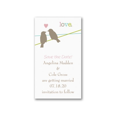 Devoted Pair - Save the Date Magnet