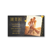 Heart Strings - Save the Date Magnet