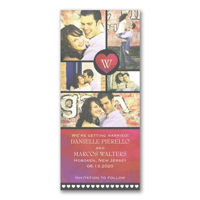 Photo Montage - Save the Date without wrap