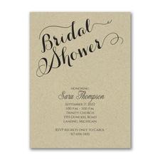 Bridal Shower Elegance - Bridal Shower Invitation