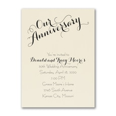 Our Anniversary  -