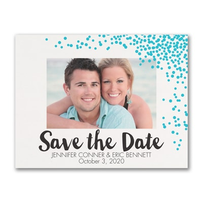 Dotted Date - Save the Date