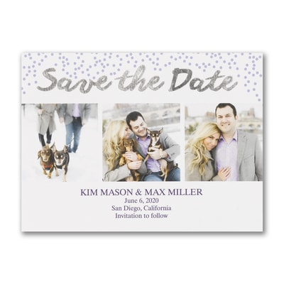 Watercolor Wash - Save the Date