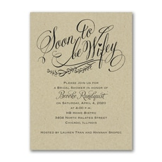 Soon to be Wifey - Bridal Shower Invitation