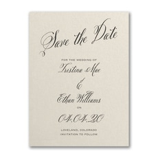 Delightful Date - Save The Date