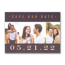 Save The Date: Our Love