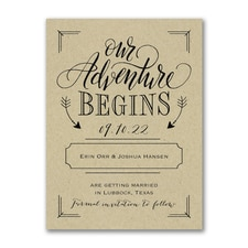 Save The Date: Adventure Begins