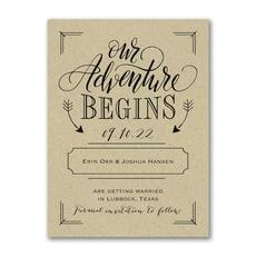 Adventure Begins - Kraft -