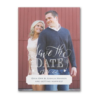 Traditional Romance - Save the Date