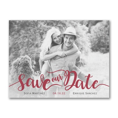 Flirty Date - Save the Date