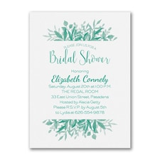Bridal Shower Invitation: Greenery Shower