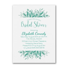 Greenery Shower - Bridal Shower Invitation