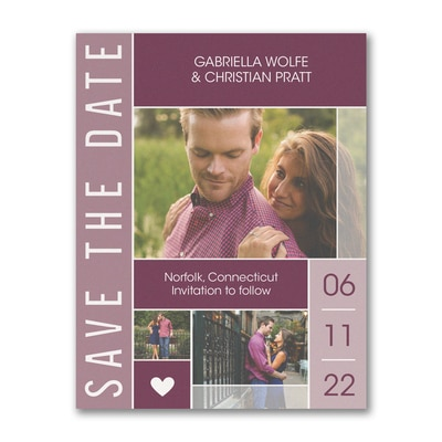 Bold Date - Save the Date