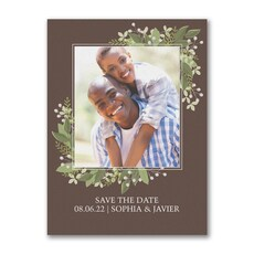 Whimsical Vines - Save The Date