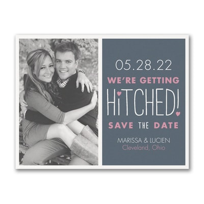 Romantically Hitched - Save the Date