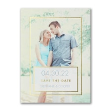 Save The Date: Romantic Frame