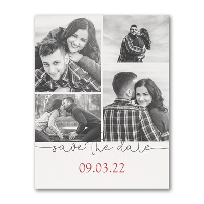 Beautiful Date - Save the Date Postcard
