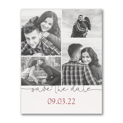 Beautiful Date - Save the Date Postcard
