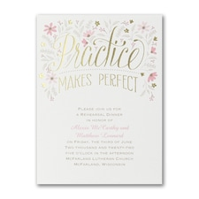 Bridal Shower Invitation: Perfect Practice