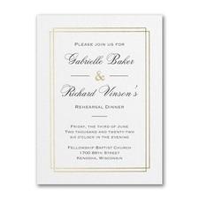 Elegant Dining - Bridal Shower Invitation