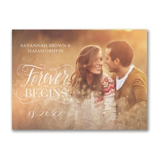 Forever Begins - Save The Date