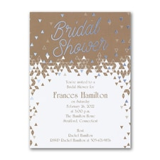 Bridal Shower Invitation: Geo Shower