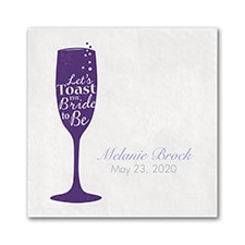 Toast the Bride - Beverage Napkin
