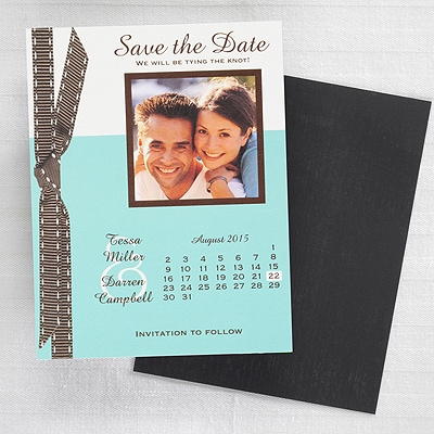 Tying the Knot - Save the Date Magnet - Lagoon