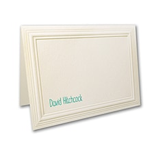 Multi Panel - Small Note Folder - Ecru