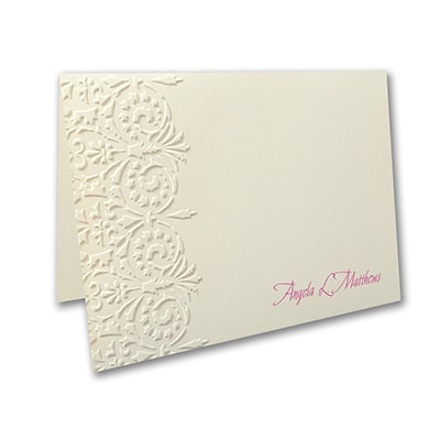 Florentine Filigree - Note Folder