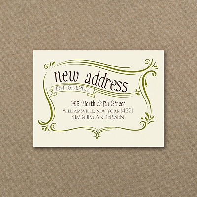 Stamp of Approval - Note Card - Ecru