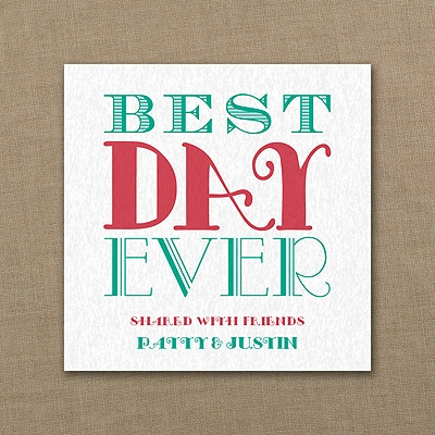 Just The Best - Coaster