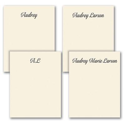 Fabulous Foursome - Note Pad Gift Set - 50 Sheet - Ecru