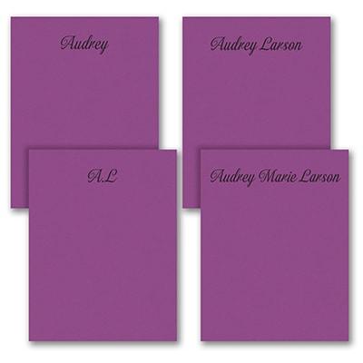 Fabulous Foursome - Note Pad Gift Set - 50 Sheet - Purple