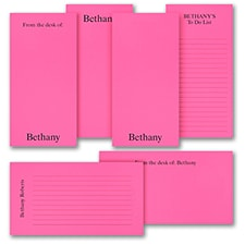 Jot a Line - Note Pad Gift Set - 50 Sheet - Pink