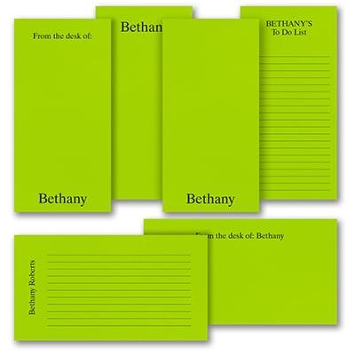 Jot a Line - Note Pad Gift Set - 100 Sheet - Green