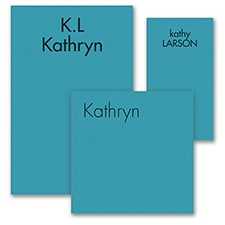 Ready, Set Go - Note Pad Gift Set - 50 Sheet - Blue